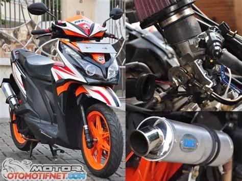 Knalpot Honda Vario 110 Cc Dbs Thailand modifikasi honda vario techno 125 barsaxx speed concept