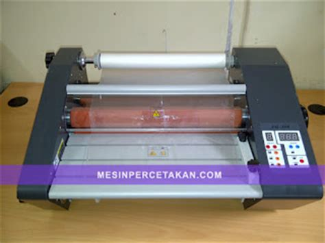 Mesin Laminating Roll 2 Sisi mesin laminating roll murah ready stock mesin cetak