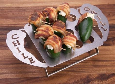 Jalapeno Popper Rack by The Original Chile Grill Chili Grill Jalapeno Grill Rack Pepper Grill Rack Pepper Rack