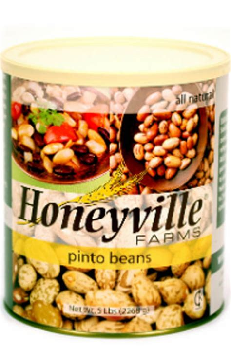 Shelf Of Pinto Beans by Term Storage Term Storage Pinto Beans