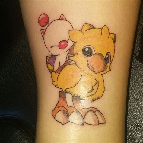 chocobo tattoo chocobo