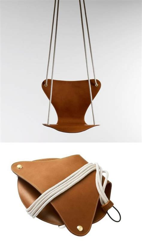 leather swing fritz hansen louis vuitton leather swing kids