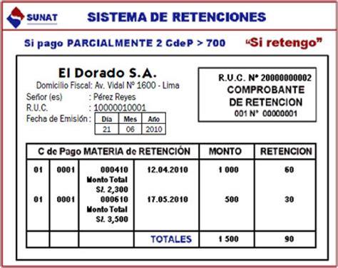 comprobante de retencin del islr tabla de retenciones julio 2013 comprobantes de pago