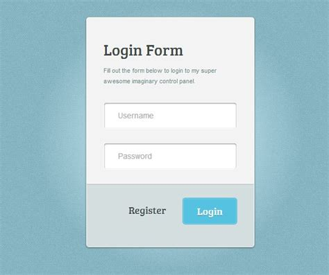 design html form using css 30 free css html login form templates