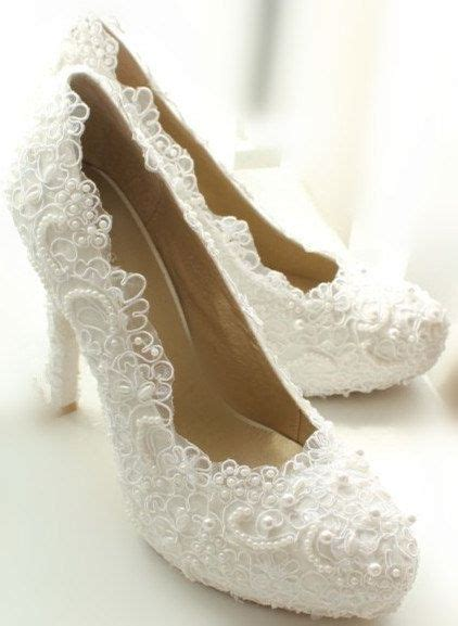 white lace high heels white lace high heels wedding touch