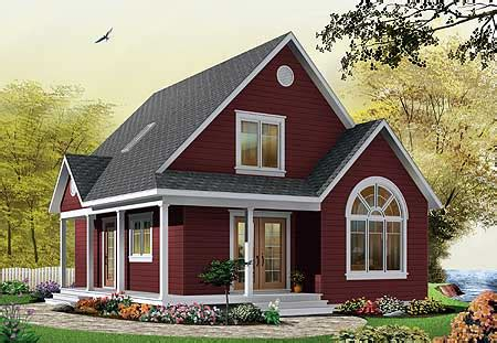 Plan W21492dr Metric Narrow Lot Cottage Traditional Country House Plans Narrow Lot