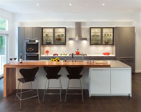 Plants Above Kitchen Cabinets by Modern Mix Contemporary Kitchen Dc Metro By Konst