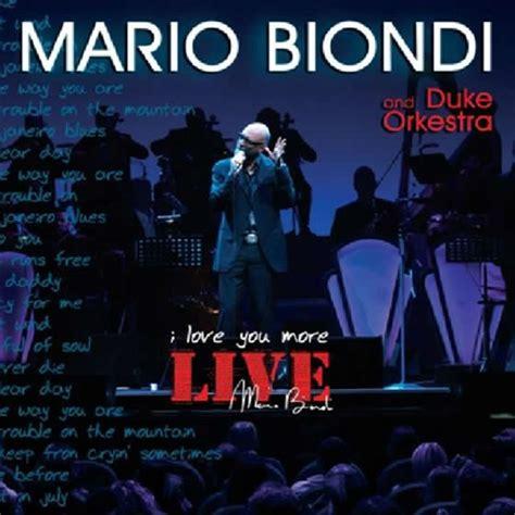 mario biondi this is what you are testo mario biondi i you more live album all world