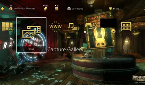 ps4 themes portal review dynamic bioshock collection ps4 theme combines the worlds