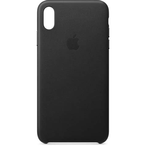 apple iphone xs max leather black mrwt2zm a b h photo