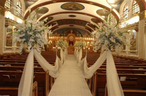 Church Decoration For Wedding by Simple Church Wedding Decorations Wedding Ideas