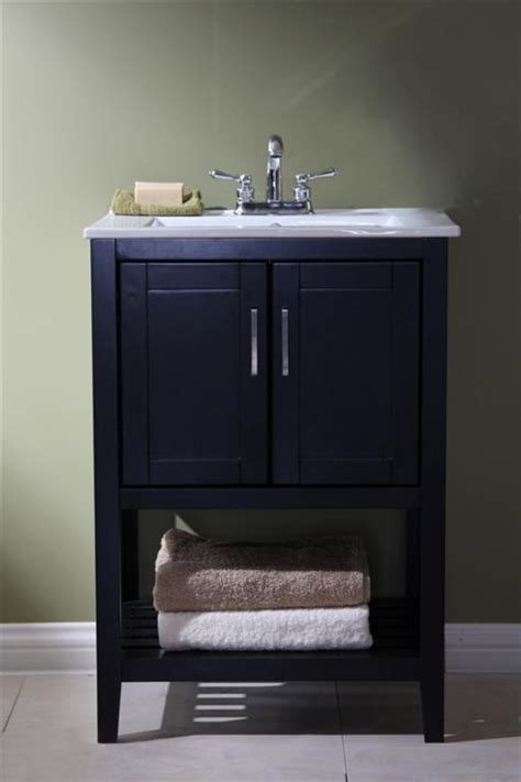 24 Inch Bathroom Vanities Legion 24 Inch Traditional Bathroom Vanity Espresso Finish