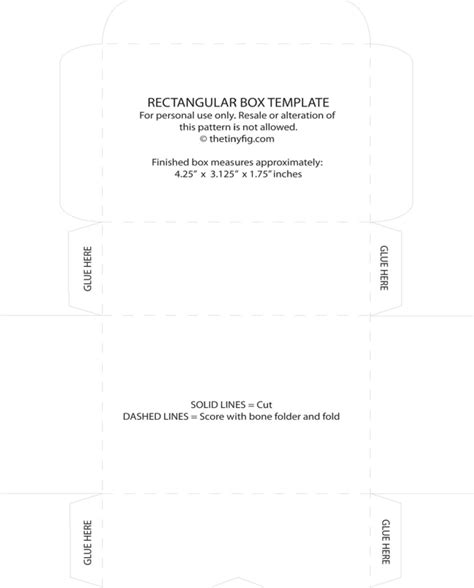 templates box for pages download download rectangular box template for free formtemplate