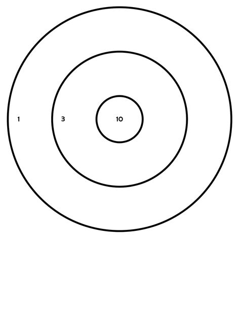 printable free rifle targets free printable zombie targets for shooting images