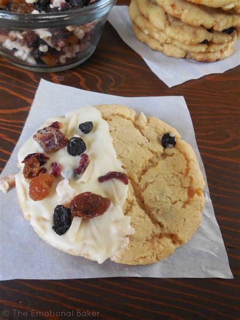 Stollen Cookies   The Emotional Baker