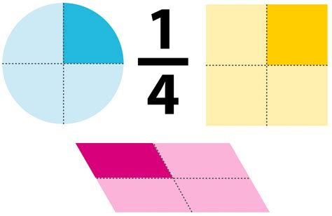 A Fourth Section by One Quarter As A Decimal Quarter Fraction Dk Find Out