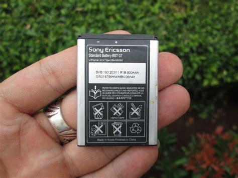 cnc phoneshop jual baterai sony ericsson bst 37 original k750 w800