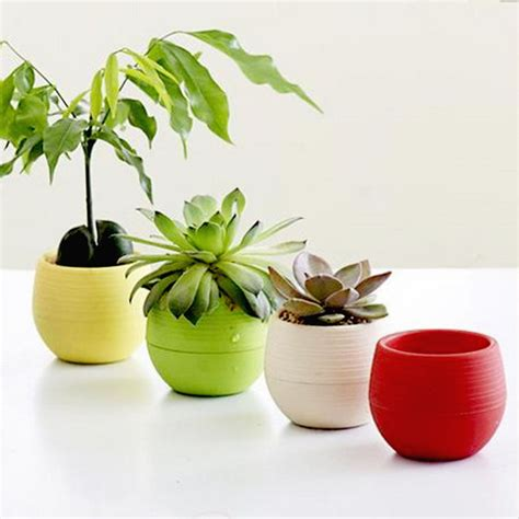 small flower pot small plastic flower pot stand balcony garden plant