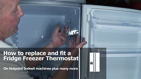 how to if my is how to replace a fridge freezer thermostat hotpoint indesit