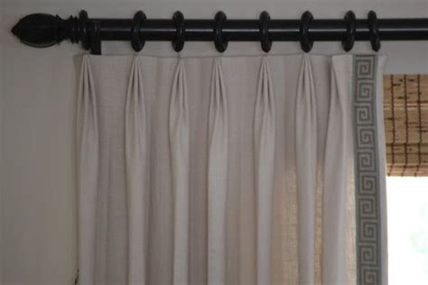 pinch pleat linen curtains beige linen blend drapes small pinch pleat drapes with