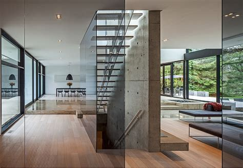 glass home architecture  minimalist style