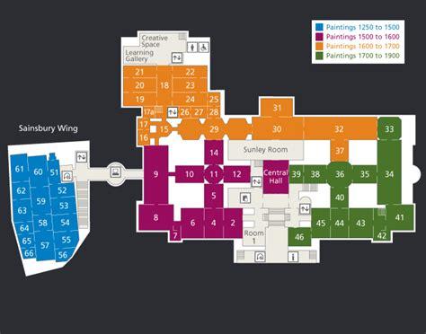 National Gallery Of Art Floor Plan   level 2 floorplans visiting national gallery