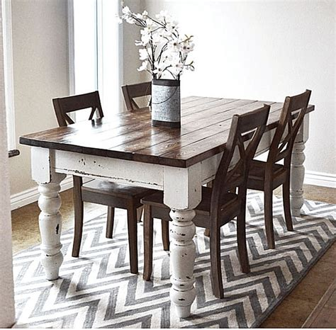 farmhouse dining room table plans 25 best ideas about farmhouse table on pinterest diy