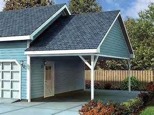 attached carport designs attached carport plan 047g 0023 carports amp garages