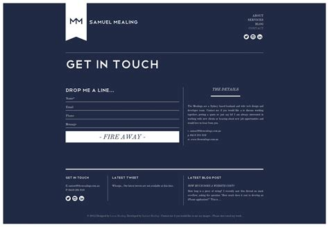 design form website designing a responsive form 20 inspirational solutions