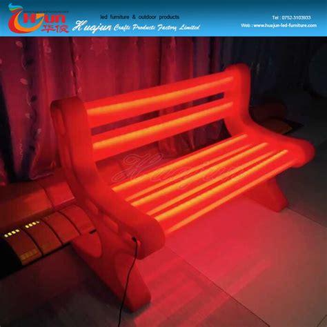 Pe Plastic Led Light Up Outdoor Furniture Outdoor Chair Light Up Outdoor Furniture