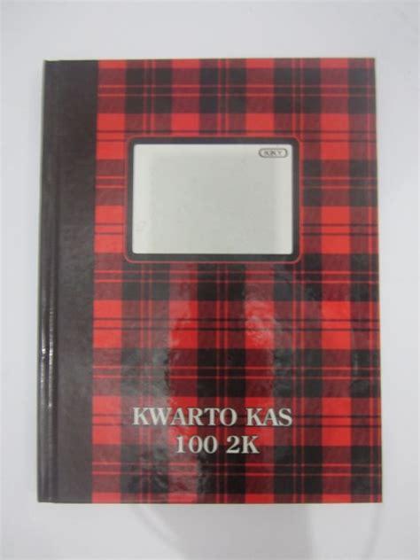 Garda Buku Kwarto 100 Lembar Murah jual alat tulis kantor murah surabaya 187 kwarto kas kiky