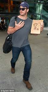 chris pratt arrives in london as promotional campaign for