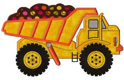 Dump Truck Embroidery Design Hqembroidery by Dump Truck Appique Embroidery Design By Sea Blossom Design