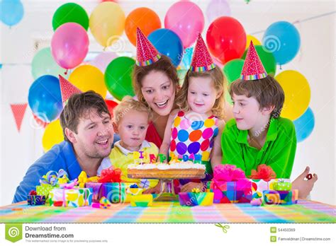 Birthday Family Pictures