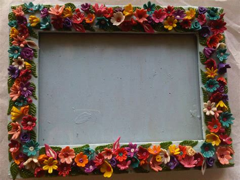 How To Make Handmade Frames For Pictures - handmade photo frame dera eco bazaar