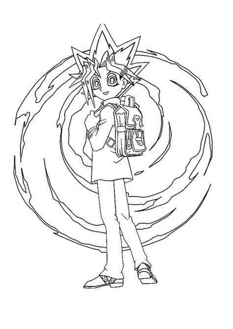 Free Printable Yugioh Coloring Pages For Kids Coloring Pages Yugioh