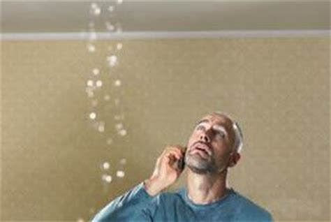 Ceiling Leaks When Shower Is On by How To Identify The Source Of A Ceiling Leak Home Guides