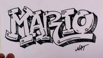 name style design graffiti writing mario name design 38 in 50 names