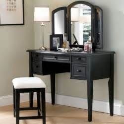 makeup vanities for bedrooms with lights open