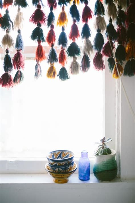 Curtains With Tassels 14040 Best Images About Bohemian Style Decor On Peacock Chair Bohemian Decor And