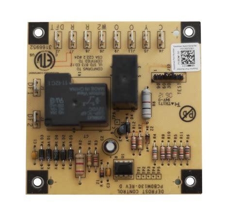 goodman defrost board wiring diagram defrost board