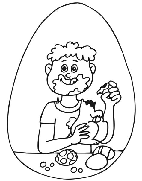 Easter Coloring Pages For Boys coloring
