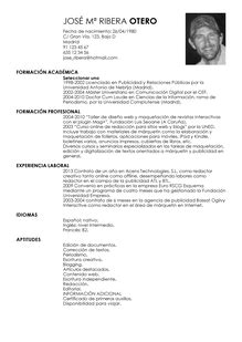 Modelo De Curriculum Vitae Londres Modelo De Curr 237 Culum V 237 Tae Maestro Maestro Cv Plantilla Livecareer