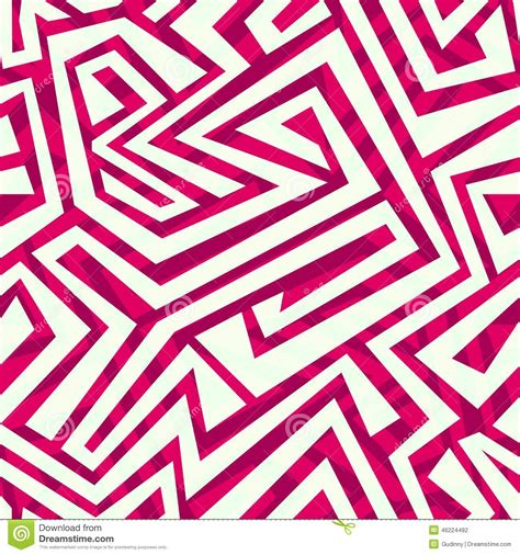 tribal pattern red red tribal seamless pattern vector illustration