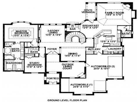 mansion house floor plans mansion floor plan home mansion