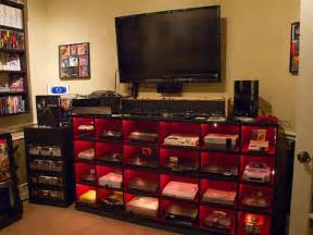 Video Game Storage Furniture Need Advice On Console Storage Display Solution