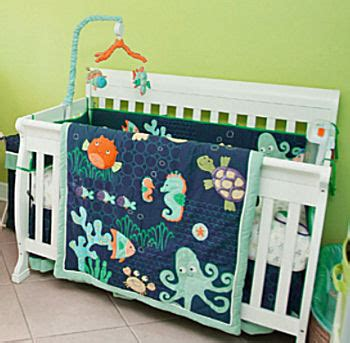 Underwater Crib Bedding A S The Sea Theme Nursery