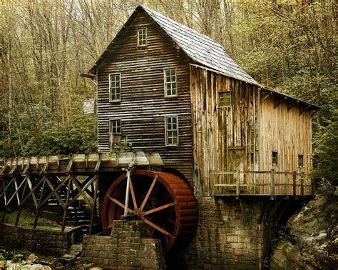 the glade creek grist mill west virginia water mills