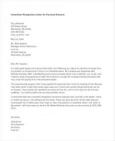 Immediate Resignation Letter Due To Pregnancy Reason Pregnancy Resignation Letter Resignation While On