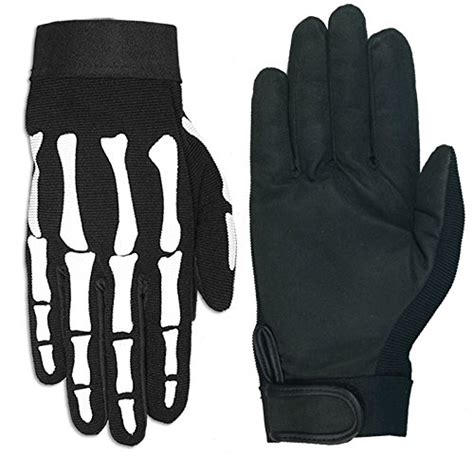 Hoodie Mechanic Skeleton leathers skeleton mechanic gloves black x large toolfanatic